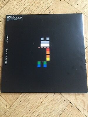 "COLDPLAY - TALK- The Remixes - rare 2006 12"" vinyl record Unplayed 3 tracks"
