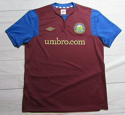 LINFIELD FC BELFAST 125 YEARS jersey shirt UMBRO 2011/12 Northern Ireland SIZE L