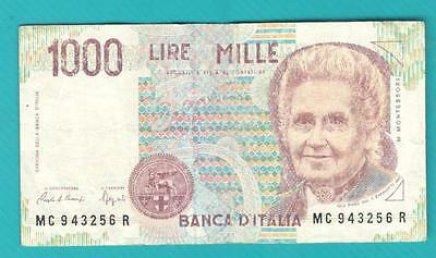 Italy banknote 1000 lire
