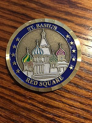 Central Intelligence Agency Regional Security Officer Moscow Coin