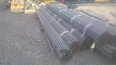 steel tube metal pipe iron 41mm outside diameter 2.8mm wall 6m lengths