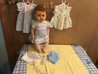 "SALE!!!! 1959 16"" Vinyl American Character Tiny Tears Baby Doll"