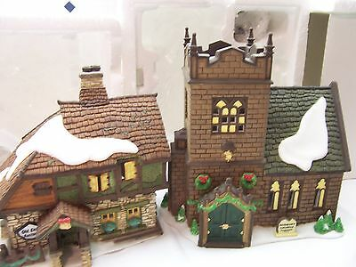 """Dept56 Dickens Village""""The Spirit of Giving""""Set of 13 Start a Tradition MINT1997"""
