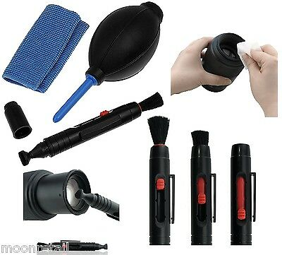 LENS CLEANING KIT Hurricane Blower Microfiber Brush Digital DSLR Camera Cleaner