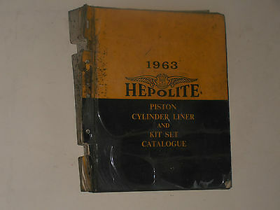 Hepolite  1963  Parts Catalogue Motor Cycles,cars Commercial Vehicles