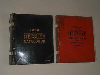 Hepolite  1960 Parts Catalogue Motor Cycles,cars Commercial Vehicles