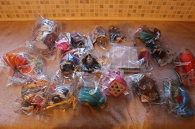 McDONALDS HAPPY MEAL VARIOUS TOYS NEW,SEALED BAGS x 16