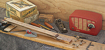 How To Build CIGAR BOX GUITARS DVD for your own neck,  kit parts & homemade amp