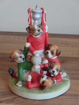 Robert Harrop Doggie People UP FOR THE CUP Figurine PL05 BOXER DOG PUPPIES