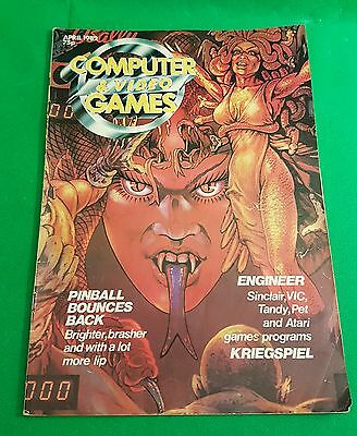 Computer & Video Games Magazine - April  1982 - Old School Vintage Gaming (o)