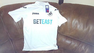 Swansea City Home Football Shirt 2016/2017 Size M