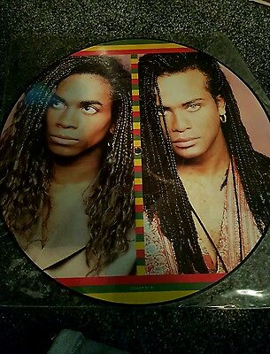 Milli Vanilli vinyl lp record ‎– Girl I'm Gonna Miss You PICTURE DISC