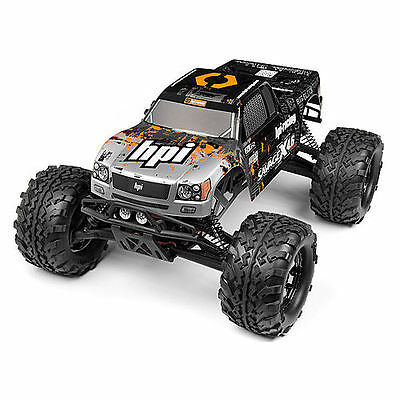 HPI Nitro Gt-3 Truck Painted Body (Silver/Black) - 109883
