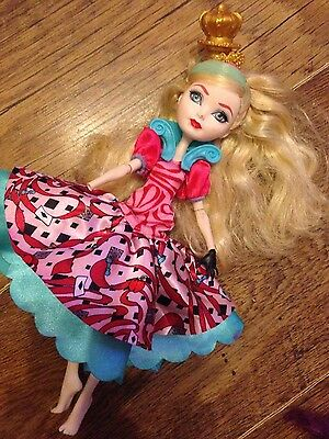 ever after high doll apple white to wonderland