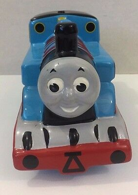 Thomas Train Ceramic Coin Money Piggy Bank Bedroom Decor 2001 Gullane Limited