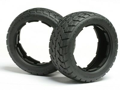 HPI Tarmac Buster Tyre M Compound (170X60mm/2Pcs) - Front - 4837