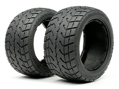 HPI Tarmac Buster Tyre M Compound (170X80mm/2Pcs) - Rear - 4840