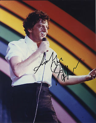 Jerry Lee Lewis - Rock N'Roll Legend - In Person Signed Colour Photograph.