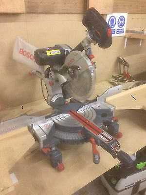 Bosch Gcm 10sd Mitre Saw 110v With Stand
