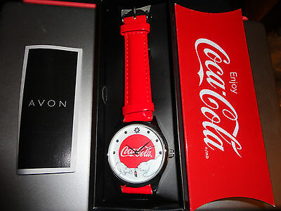 Coca Cola Christmas Watch NEW IN PACKAGE from Avon