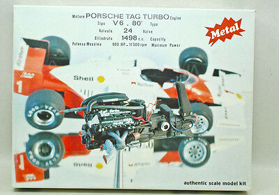 PROTAR Metal engine model (Made in Italy) 1:12 PORSCHE TAG TURBO Mod.208 E