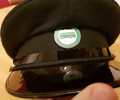 london country bus drivers peaked cap