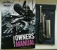 Stomp Pit Bike Dirt Bike Owners Manual & Tool Kit