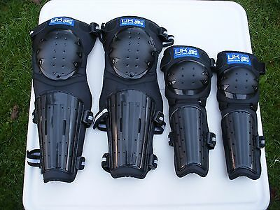 Pocket Rocket Motorcycle Elbow & Knee/Shin Pads.New