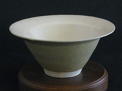 """Japanese Artisan Hand Crafted Pottery Bowl Signed By """"Unknown"""" Artist"""
