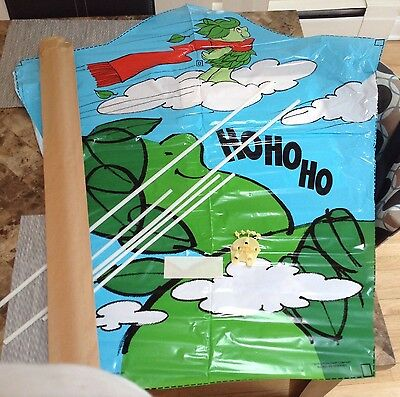JOLLY GREEN GIANT KITE VINTAGE 1970's MAIL AWAY IN FACTORY MAILER