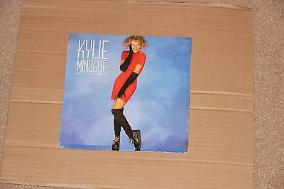 """Kylie Minogue 7"""" single Got to be Certain PWL 12"""