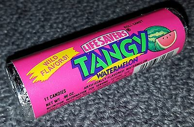 Vintage unopened Lifesavers Tangy Watermelon candy roll 1980s 1990s? RARE flavor
