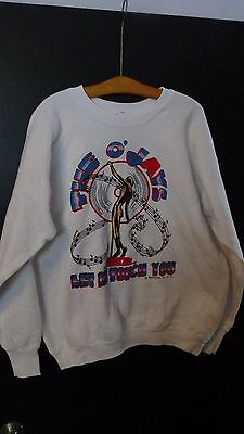 "Vintage 1987 The O'Jays ""Let Me Touch You"" concert tour Sweatshirt white XL"