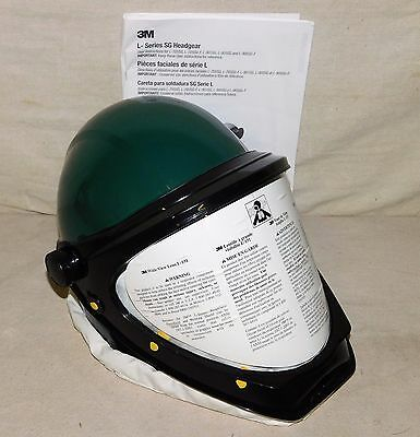 3M L-901SG Helmet with Wide View Faceshield Universal