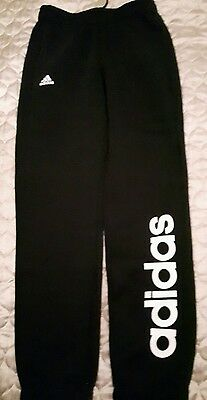 Adidas tracksuit bottoms 11-12 yrs