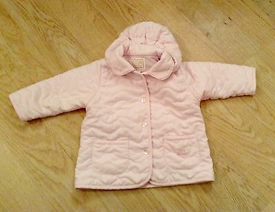 Gorgeous Pink Baby Girl's  Emile Et Rose Jacket. 3-6 months.