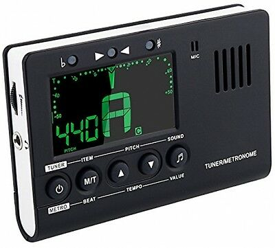 Mugig Metronome Guitar Tuner 3 In 1 With Larger View And Louder Sound For Bass