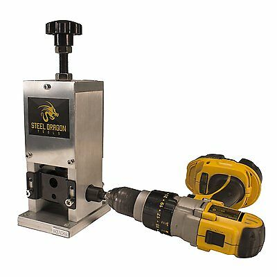 Steel Dragon Tools WRA15 Benchtop Automatic Wire Stripping Machine Strip Scrap