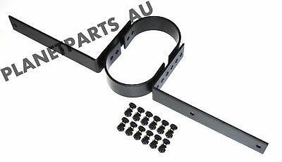 Tail Shaft Loop Safety Kit Race Car Drag Tailshaft BLACK Stealth BRAND NEW