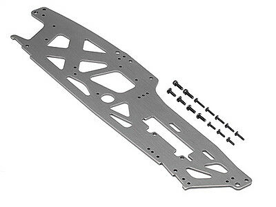 HPI TVP Chassis (Left/Gray/3mm) - Savage Octane - 108942