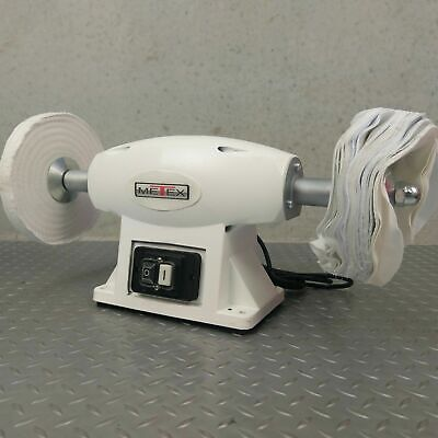 Polisher Buffer Metex 200mm polish polishing machine buff metal stone bench