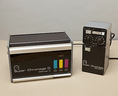 OMEGA Super Chromega D 4X5 Dichroic II Color Head With Power Supply & Timer
