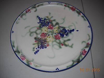 "1995 Clouds of Folsom Pottery Plate (#3)  10 1/2""  REDUCED!!!"