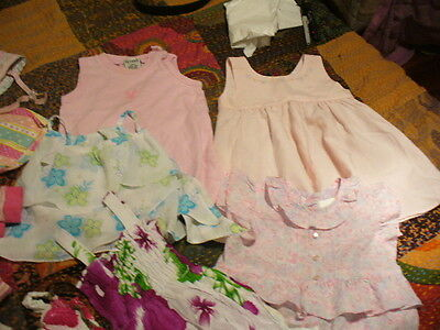 size 0 baby girls clothes , x 2 bulk lots