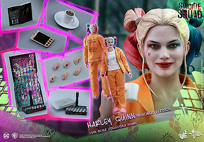 Hot Toys Suicide Squad 1/6th scale Harley Quinn (Prisoner Version) Figure MMS407