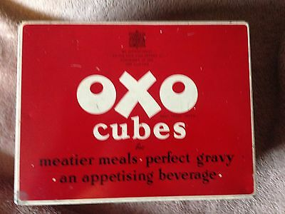 "Vintage Traditional Oxo Cubes ""Lunch Box"" Design"