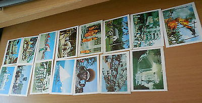 vintage weetbix  our Asian Neighbours  vintage cards (15 cards)