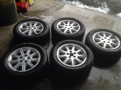 """Ford 16"""" Alloy Wheels And Tyres"""