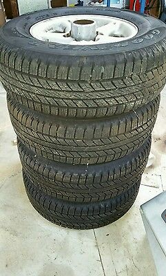 4x4 tyres and rims GoodYear Wrangler