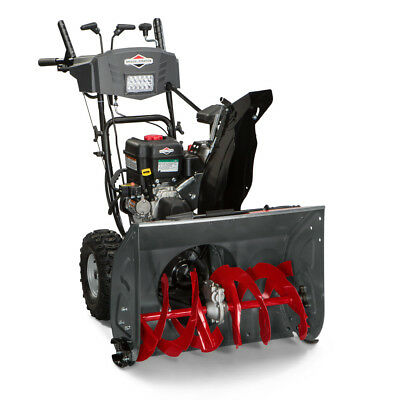 """Briggs and Stratton 1227MD 250cc 27"""" 2-Stage Snow Thrower w/ ES 1696619 New"""